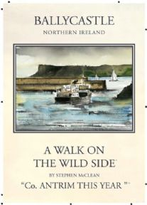 Vintage Northern Ireland poster - Ballycastle, Co.Antrim